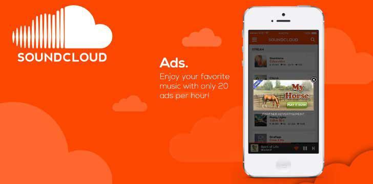 SoundCloud's screenshots