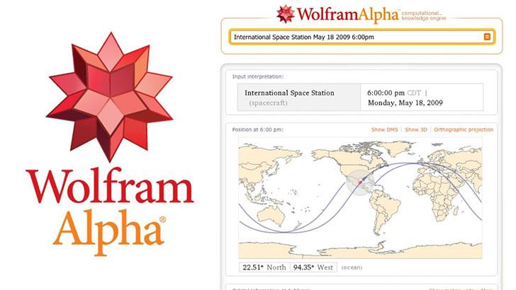WolframAlpha's screenshots