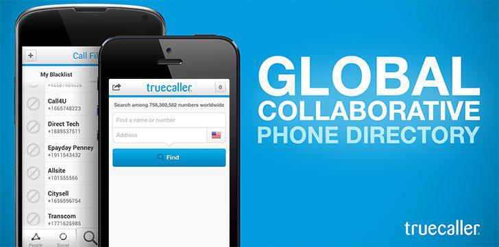 Truecaller's screenshots