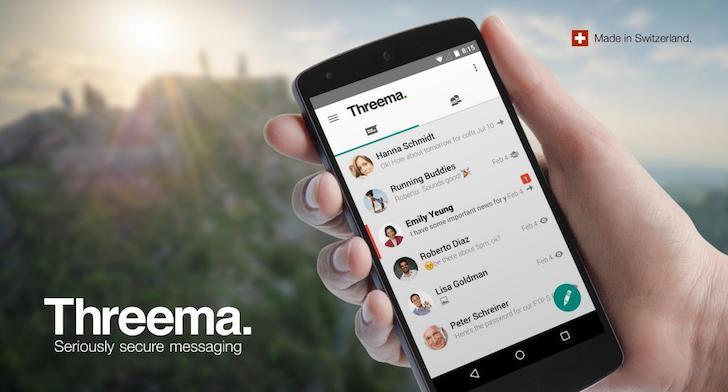 Threema's screenshots