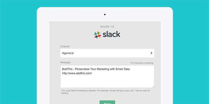 Slack's screenshots