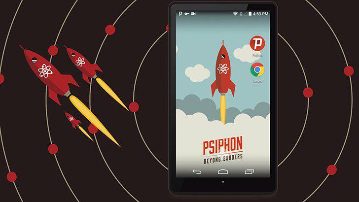 Psiphon's screenshots