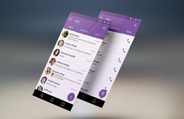 Viber's screenshots
