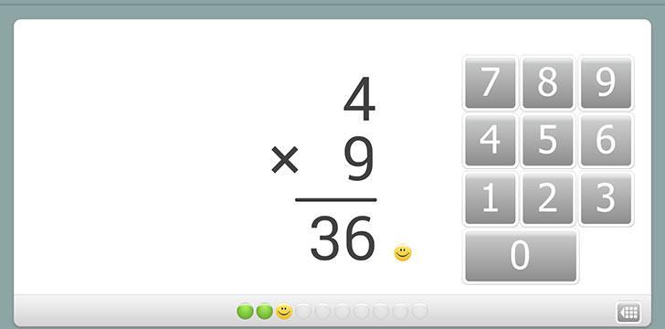 XtraMath's screenshots