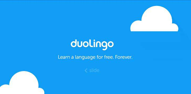 Duolingo's screenshots