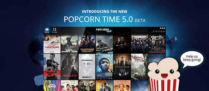 Popcorn Time's screenshots