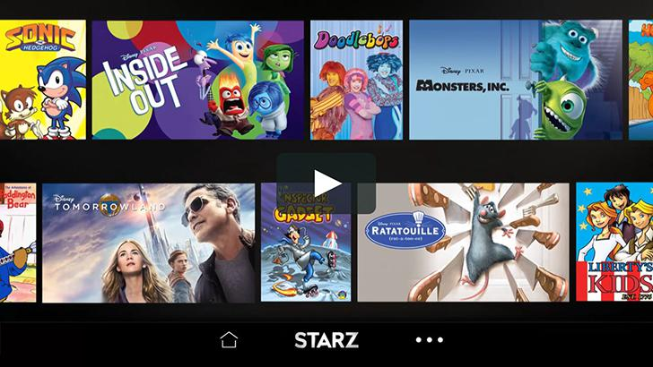 STARZ's screenshots