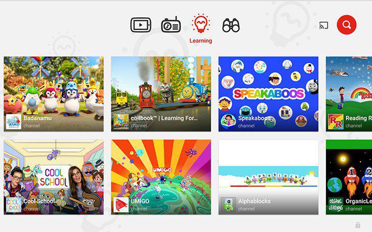 YouTube Kids's screenshots