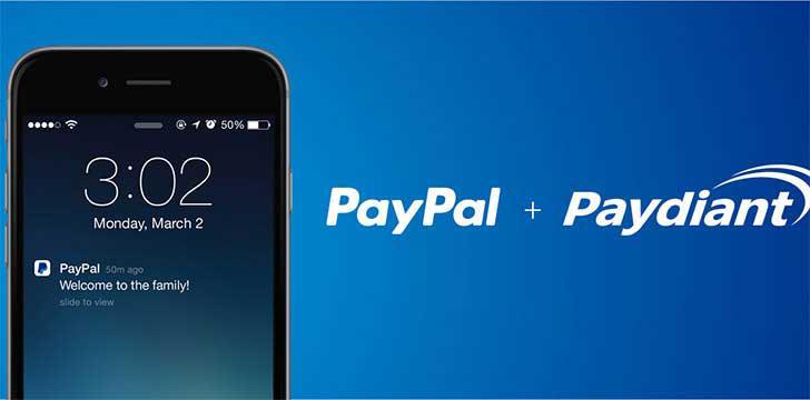 PayPal's screenshots
