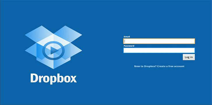 Dropbox's screenshots