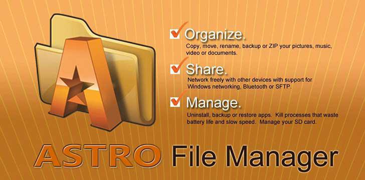 ASTRO File Manager's screenshots