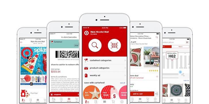 Target - now with Cartwheel's screenshots