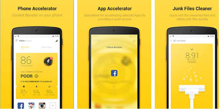 Yellow Booster's screenshots