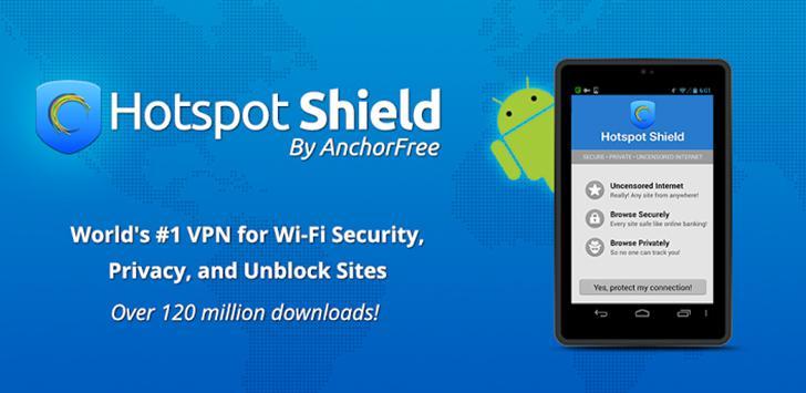 HotspotShield VPN & Wifi Proxy's screenshots