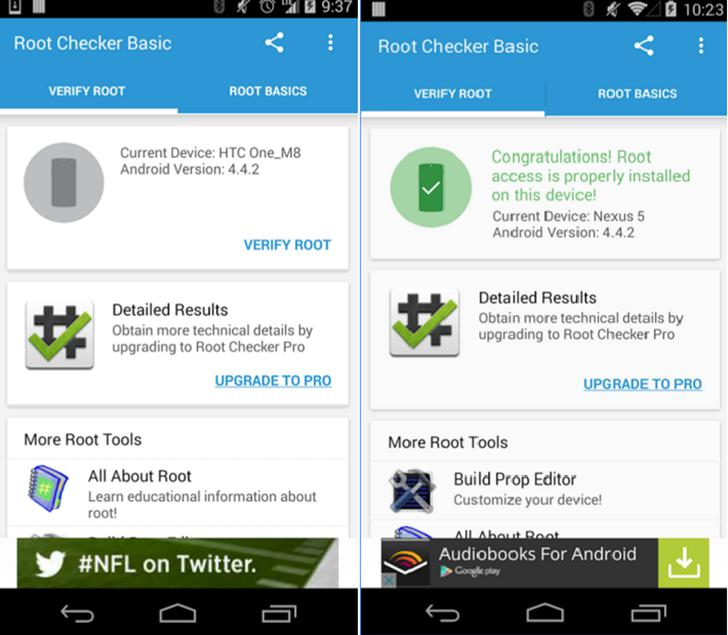 Root Checker's screenshots