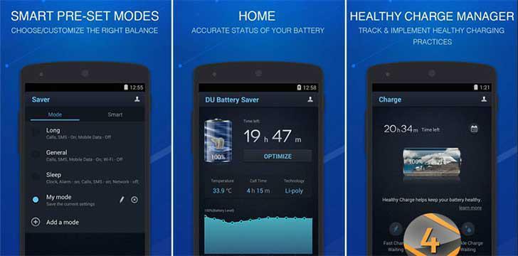 DU Battery Saver's screenshots