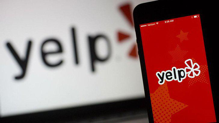 Yelp's screenshots