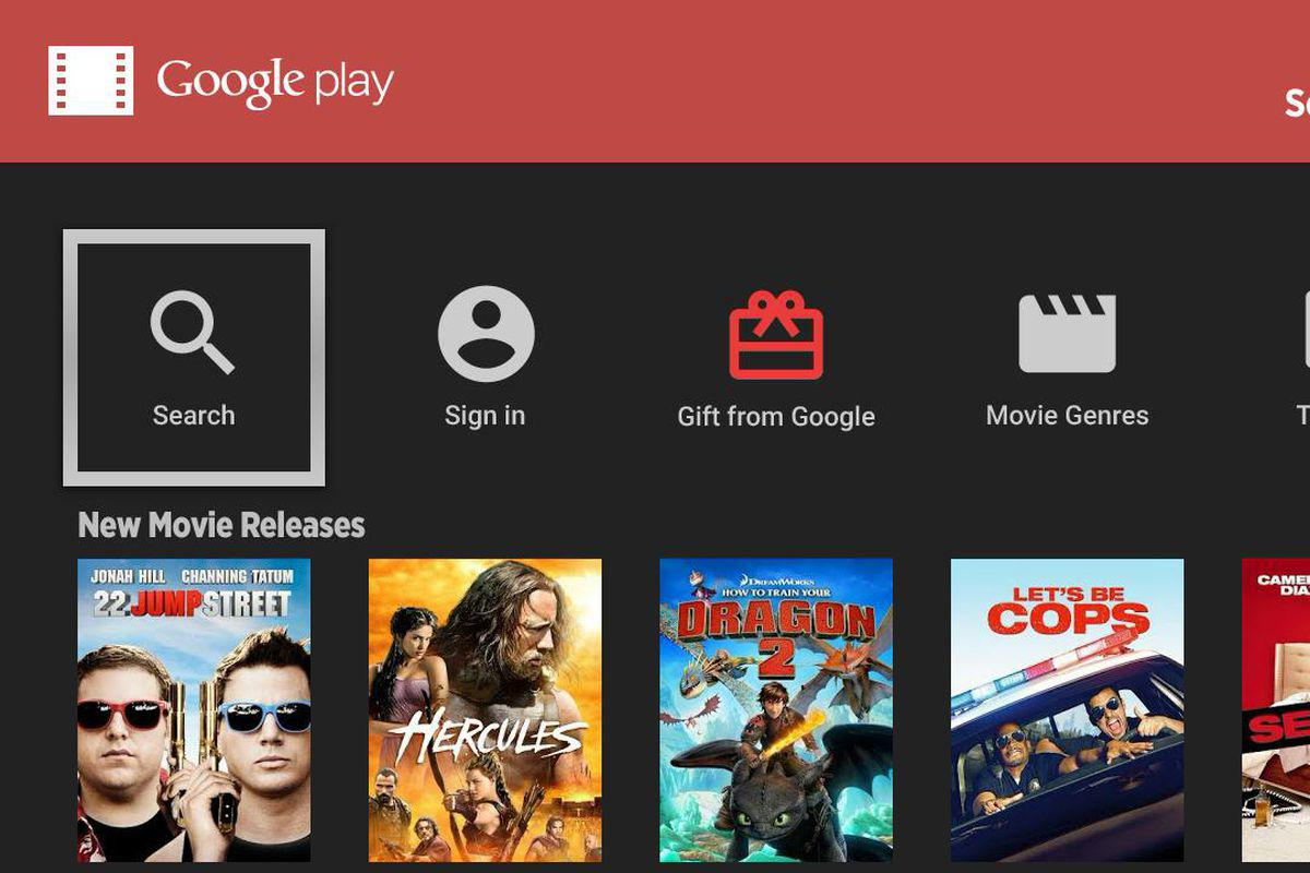 Google Play Movies & TV's screenshots
