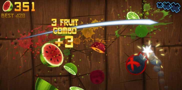 Fruit Ninja's screenshots