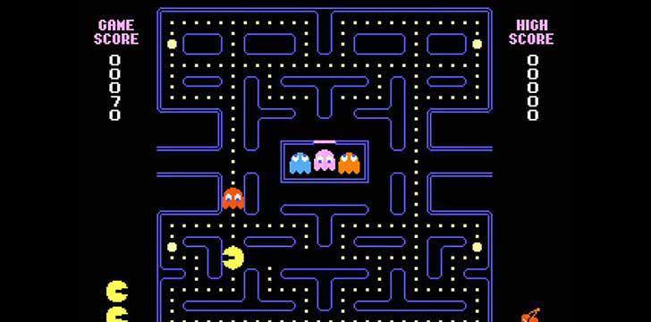 PAC-MAN's screenshots