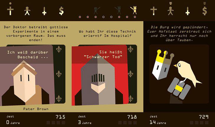 Reigns's screenshots