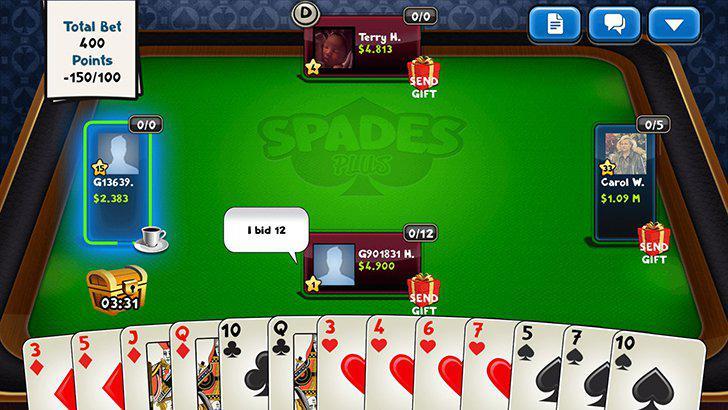 Spades Plus's screenshots
