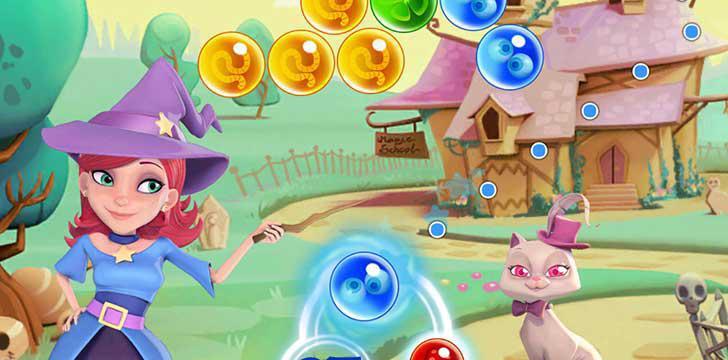 Bubble Witch 2 Saga's screenshots