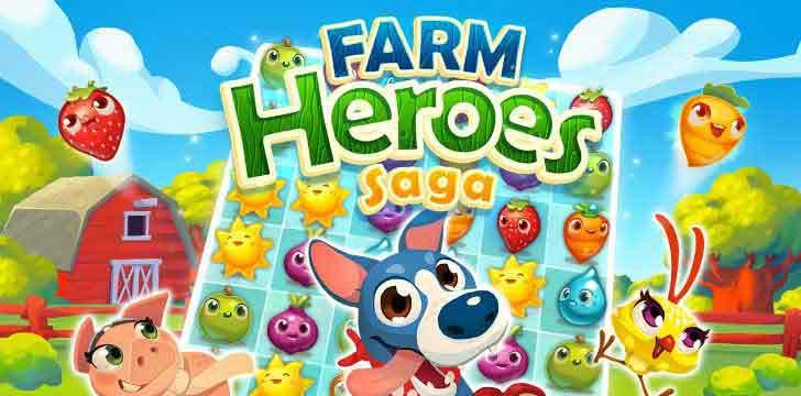 Farm Heroes Saga's screenshots
