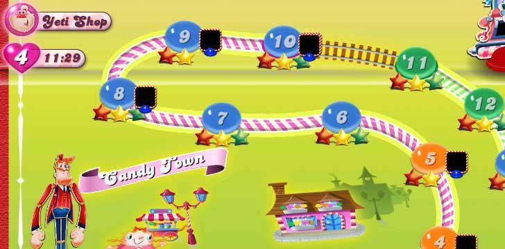 Candy Crush Saga's screenshots
