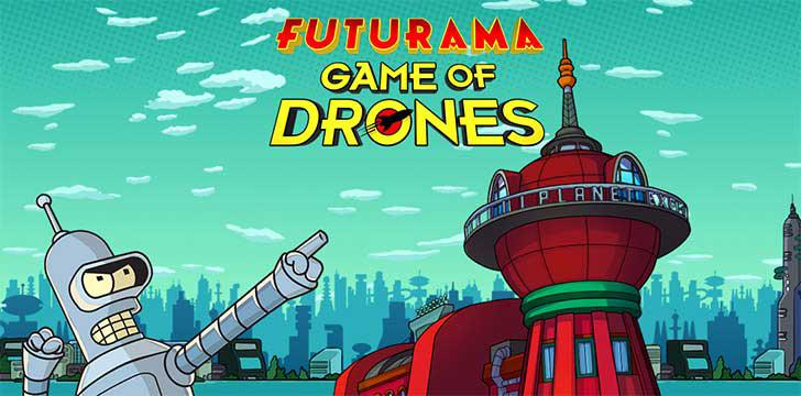 Futurama: Game of Drones's screenshots