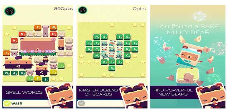 Alphabear's screenshots