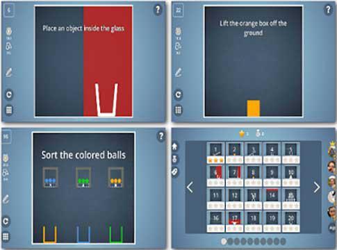 Brain It On's screenshots