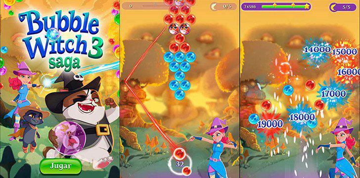 Bubble Witch 3 Saga's screenshots
