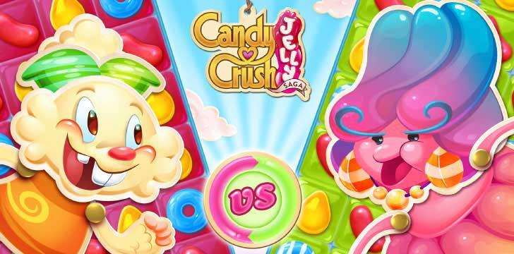 Candy Crush Jelly Saga's screenshots