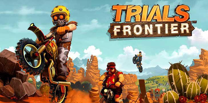 Trials Frontier's screenshots