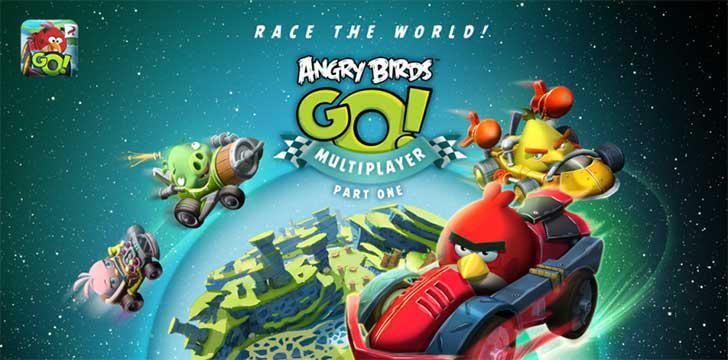 Angry Birds Go!'s screenshots