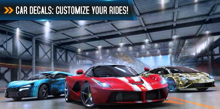 Asphalt 8: Airborne's screenshots