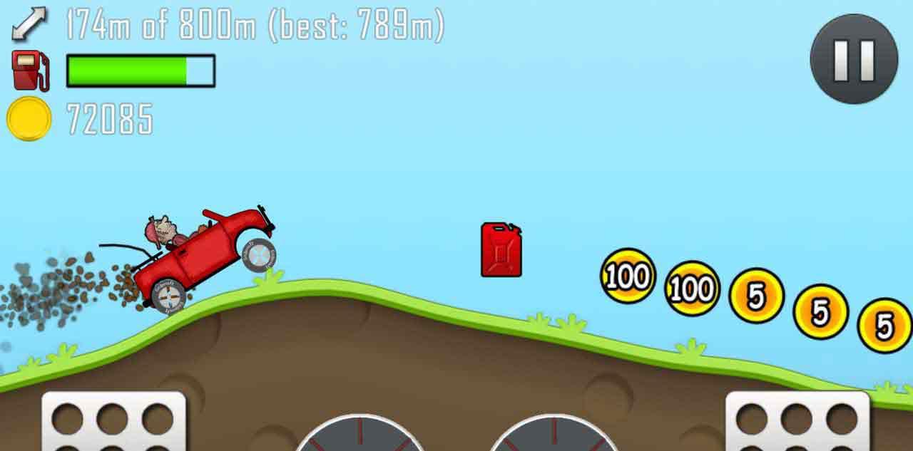 Hill Climb Racing's screenshots