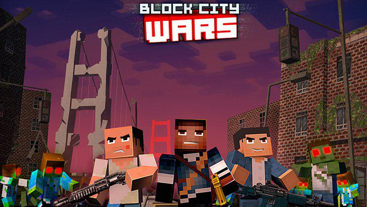 Block City Wars + skins export's screenshots
