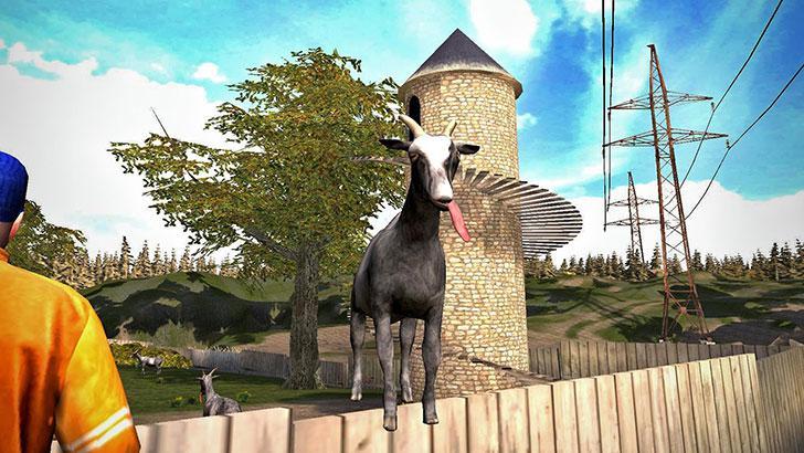 Goat Simulator's screenshots