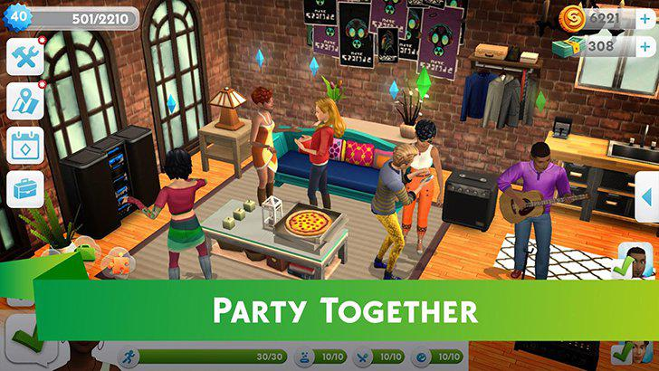 The Sims Mobile's screenshots