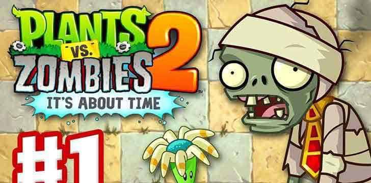 Plants vs Zombies 2's screenshots