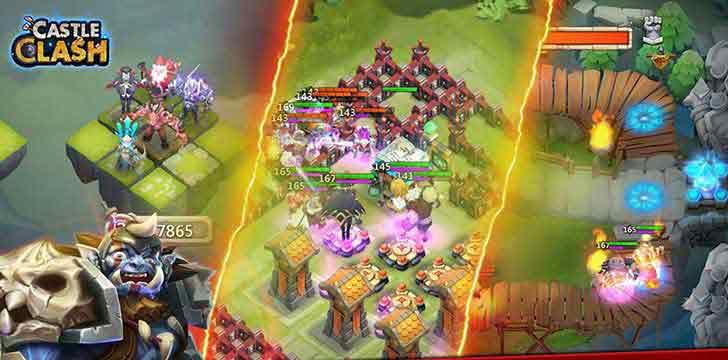 Castle Clash's screenshots
